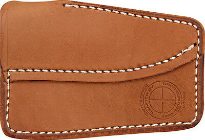 Sharpshooter SS02 Prudhoe Bay Pocket Sheath Premium Brown Leather Constr