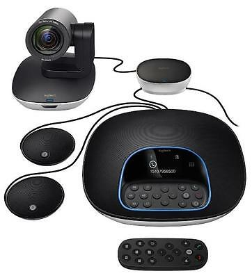 Logitech Group Video Conferencing Bundle with Expansion Mics 960-001060