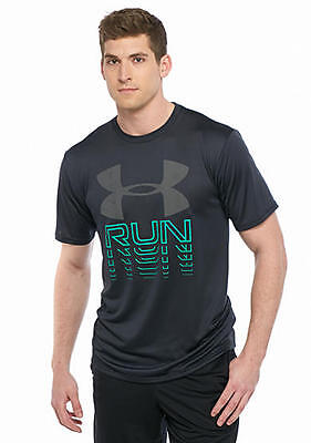 Under Armour Men's Running Rising Short Sleeve Graphic Tee Shirt Xxl New Nwt