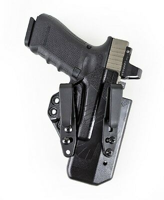 Raven EG19 AS BK BSC Eidolon IWB Holster Ambi for Glock 19/26 Black