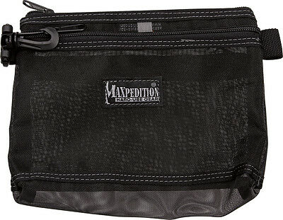 Maxpedition MX809BM The MOIRE Pouch Three Pockets Abrasion Resistant Mesh