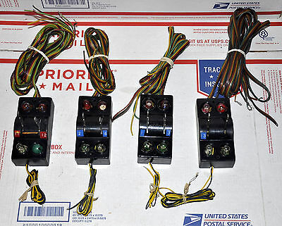Lot Of 4 Ea Dual Control Controllers For American Flyer 720 Remote Switch Tracks