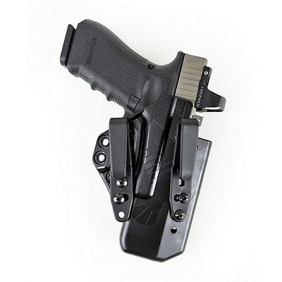 Raven EG19ATBKBSC Eidolon Holster Basic IWB Black Kydex Ambi for Glock 26 Tall