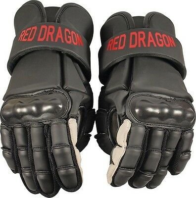 """Rawlings PR7010 Red Dragon Sparring Gloves Black 12"""" - Size Small"""