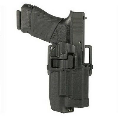 Blackhawk 414500BK-R Light Bearing Conceal Holster Black CF RH for Glock 17