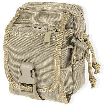 Maxpedition MX307K M-1 Waistpack Khaki Two Pocket Compact 5.5 in x 3.5 in x 2 in