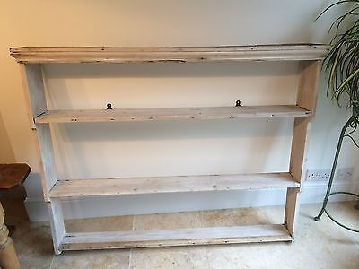 Antique Pine Dresser Top/Shelves