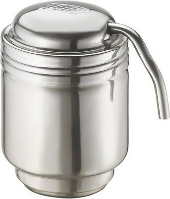 Esbit ESB87002 Coffee Maker Stainless Steel/Black 6.7oz Capacity