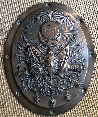 Turkey Turkish Canon Plaque Abdulhamid Ii Armada With Ottoman Medals And Orders