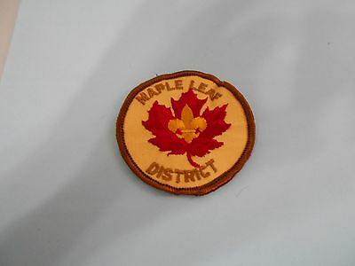 (Mx6-R) An Unnown Probably Canadian Scout Badge  Canada Scout Badges