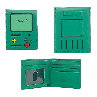 NEW! Adventure Time Unisex Beemo Bmo Video Games Console Bi-Fold Wallet One Size