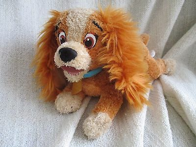 LADY AND THE TRAMP beanie bean plush soft toy VGC Disney Store