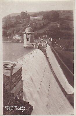 Penygarreg Dam, Elan Valley - Real Photo By Abery Of Builth Wells