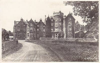 Tarbet Hotel, Loch Lomind - Real Photo By Valentines 1958