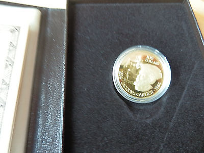 "Kanada: 100 Dollar ""Jacques Cartier"" 1984 - 16,96 g Gold - RR!!"