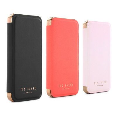 OFFICIAL TED BAKER SS16 SHAEN Mirror Folio Case Collection for iPhone 5 / 5S