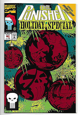 Punisher Holiday Special #1 1992 Double-Sized Issue  Marvel Comics