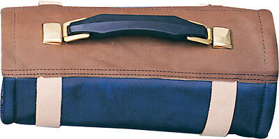 Knife Case AC35 60 Piece Roll Made Of Furniture Grade Vinyl W/ Leather Tie Stra