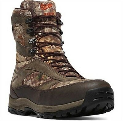 """LaCrosse Footwear 46228D-13 High Ground 8"""" Realtree XTRA 1000G"""