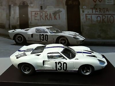 Fly A187 Ford Gt40 Targa Florio 1967 1/32 Slot Car Scalextric Compatable