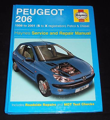 Peugeot 206 Petrol and Diesel, Haynes Service and Repair Manual: 1998 to 2001