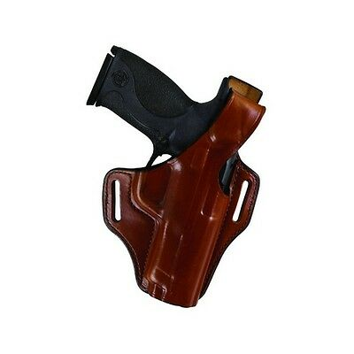 Bianchi 25056 Serpent Belt Holster Tan Leather RH for Colt Govt 1911