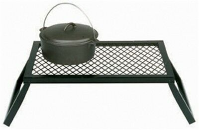 "15110 Texsport Heavy Duty Easy Storing Steel Campfire Grill 24"" x 16"""