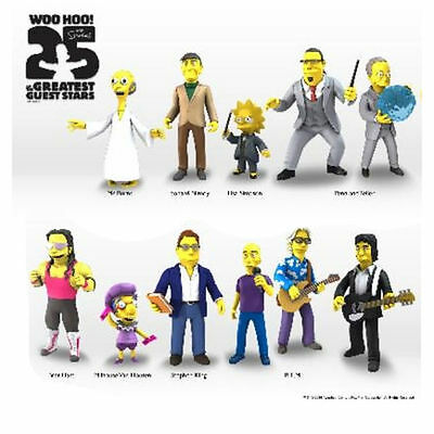 "THE SIMPSONS - 25th Anniversary 5"" Series 3 Action Figure Set (11) by NECA #NEW"
