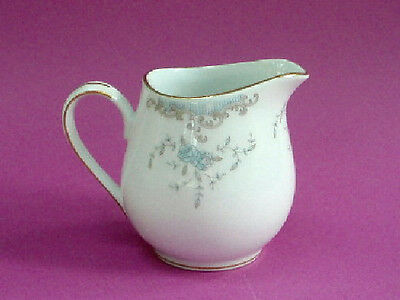 Imperial China SEVILLE #5303 Blue Roses w/Gold Creamer