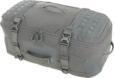 Maxpedition RSMGRY IronStorm Adventure Travel Bag Gray