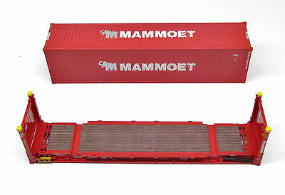 MAMMOET CONTAINER SET 1:50 Scale by Tonkin Replicas - L.E.