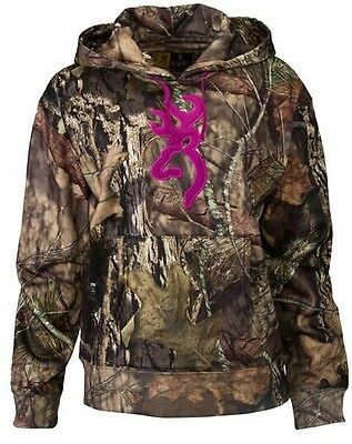 Browning 30174028 Women's Mossy Oak Country Wasatch Performance II Hoodie - XL