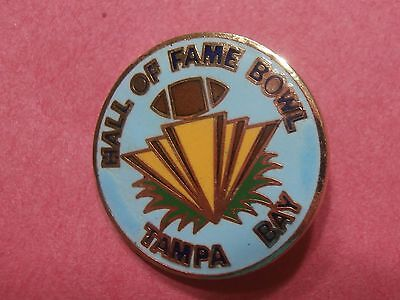 Hall of Fame Bowl (Now called the Outback Bowl) Tampa Pin