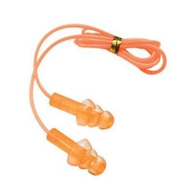 Champion 40962 Hearing Protection Plugs w/ Cord, Soft Silicone Gel