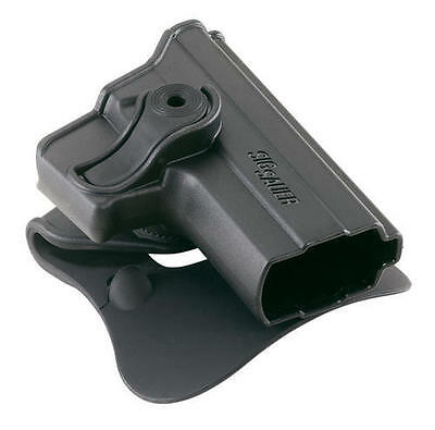 Sig Sauer 66 Polymer RH Black Paddle Holster P250 Compact NEW STYLE FLAT RAIL