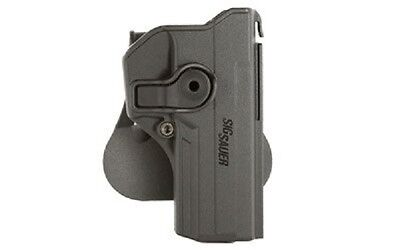 Sig Sauer HOL-RPR-250F-BLK Polymer RHS Paddle Retention Holster P250 Full Size