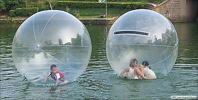 Water Walking Ball PVC Tzip 78inch 2M in Diameter Large Transparent