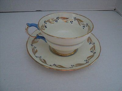 Vintage Copelands  Grosvenor China Tea Cup And Saucer