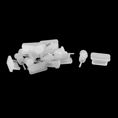 Silicone Earphone Charger Dock Port Anti Dust Cap 10 Set for Type C Phone
