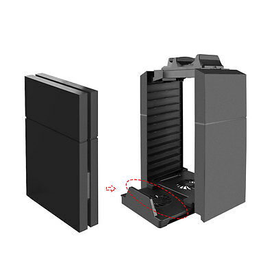 Design Cooling Fan Cooler Vertical Stand for PS4 /PlayStation 4 Console Cooler