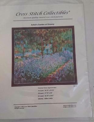 Cross Stitch Collectibles Chart / Pattern Artists Garden at Giverny MO-37  NEW