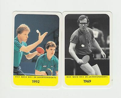 Table Tennis : German sports card group
