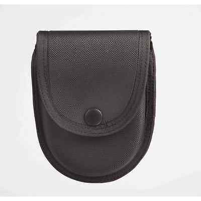 Uncle Mike's 89069 Black Nylon Sentinel Nylon Double Handcuff Case/Pouch