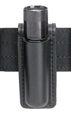 Safariland 306-7-4 Black Basketweave Opentop Full Sheath Strion Flashlight Pouch