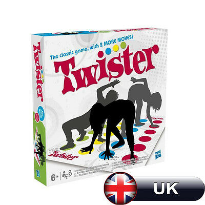Brand New Classic Moves Board Body Twister Funny Family Game with 2 More Moves