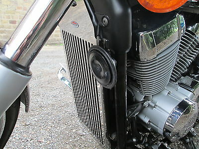 Honda Vt750 Shadow (07 ) Beowulf Radiator Guard,grill,cover, Protector H031