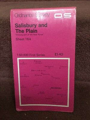 Old Ordnance Survey Map First Series Salisbury And The Plain