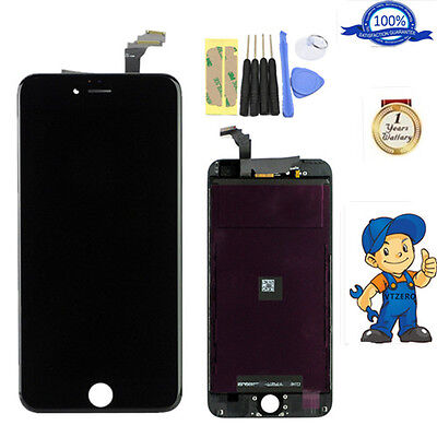 """iPhone 6 plus 5.5"""" Black LCD Display Screen Touch Digitizer Assembly Replacement"""