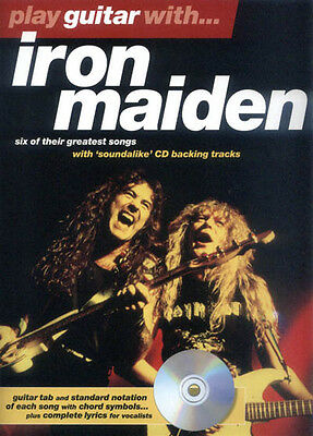 Play Guitar with ... Iron Maiden Gitarre Noten Tab mit Play-Along CD