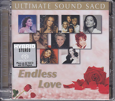 """""""Endless Love Ultimate Sound"""" Japan Hybrid SACD CD Diana Ross Lionel Richie Abba"""